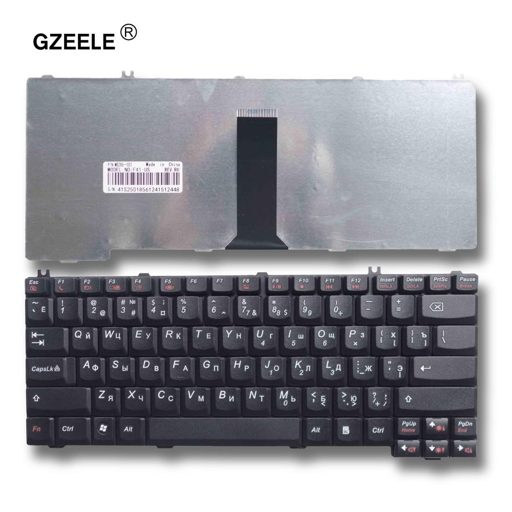 GZEELE Russian Laptop Keyboard For LENOVO 3000 C100 C200 F31 F41 G420 G430 G450 G530 A4R N100 N200 Y430 C460 C466 C510 RU Layout