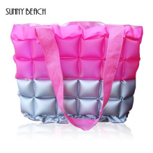 REAL PHOTO High quality fashion Color matching candy color bags waterproof beach bags women bags
