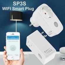 Broadlink SP3 SP3S WiFi Smart Socket US EU Plug Remote Control Power Switch work with Alexa Google Home Smart Home Automation цена