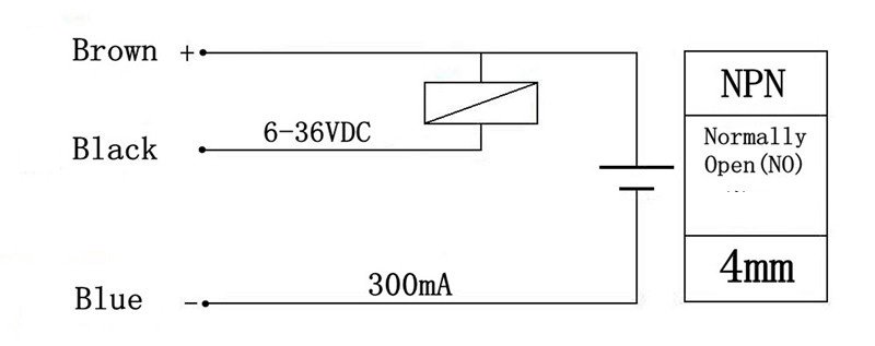 Inductive Proximity Sensor Detection Switch NPN DC6 36V LJ12A3 4 Z BX sensor picture more detailed picture about inductive proximity npn proximity sensor wiring diagram at n-0.co