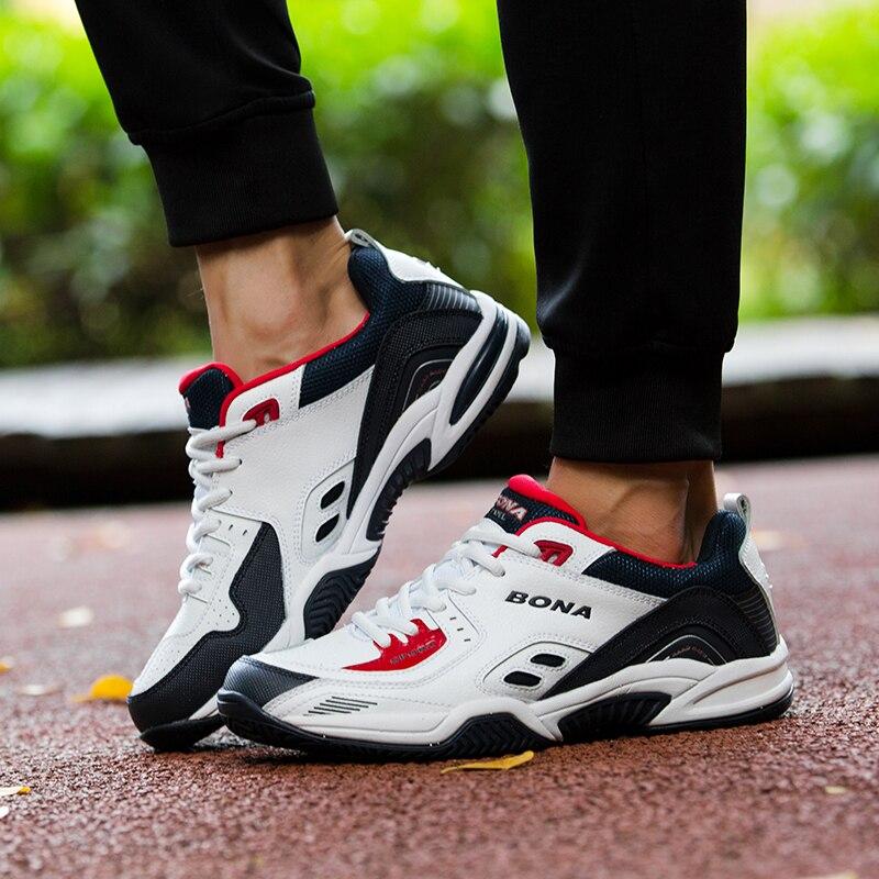 FOI Nouveau Style Populaire Hommes Chaussures de Jogging En Plein Air Sneakers Lace Up Hommes de Sport Chaussures De Tennis Confortable Lumière Douce Livraison Gratuite - 5