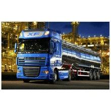 5d алмазная картина грузовик полная квадратная дрель Алмазная мозаика машина алмазная вышивка декоративная наклейка 60x90 см