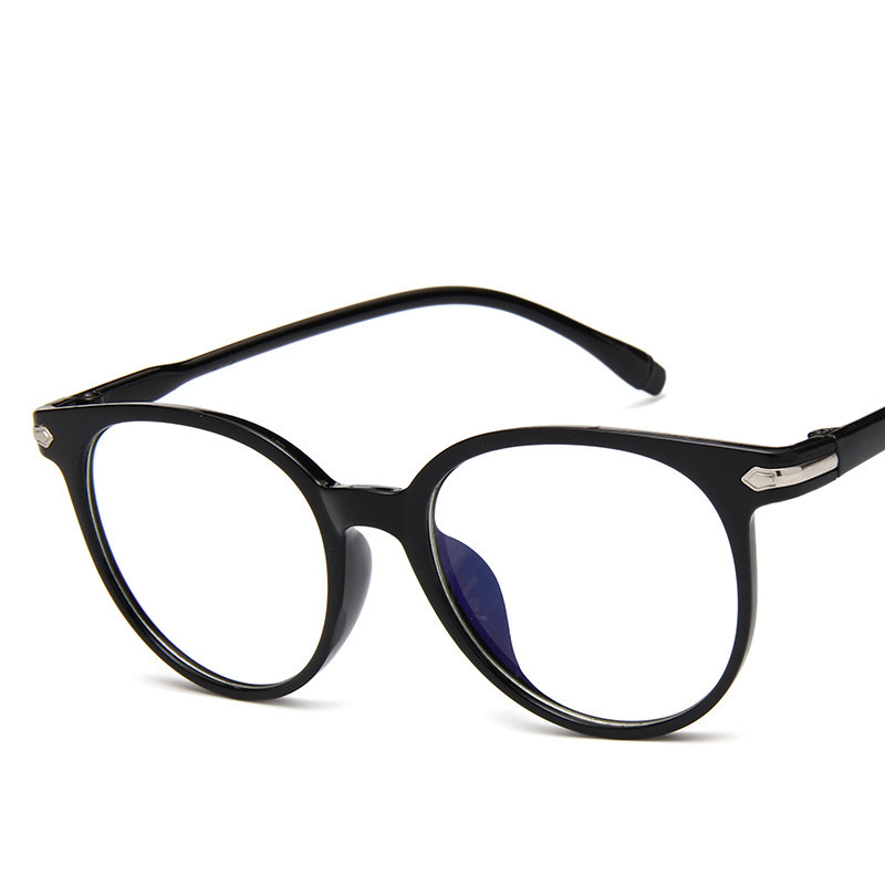 c04e133d520 2018 Fashion Women Glasses Frame Men Eyeglasses Frame Vintage Round Clear  Lens Glasses Optical Spectacle Frame