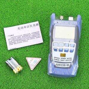 Image 2 - KELUSHI все в одном FTTH волоконно оптический Мощность метр 70 до + 10dBm и 1 мВт 5 км тестер волоконно оптического кабеля прибор для визуального определения повреждения прибор для тестирования