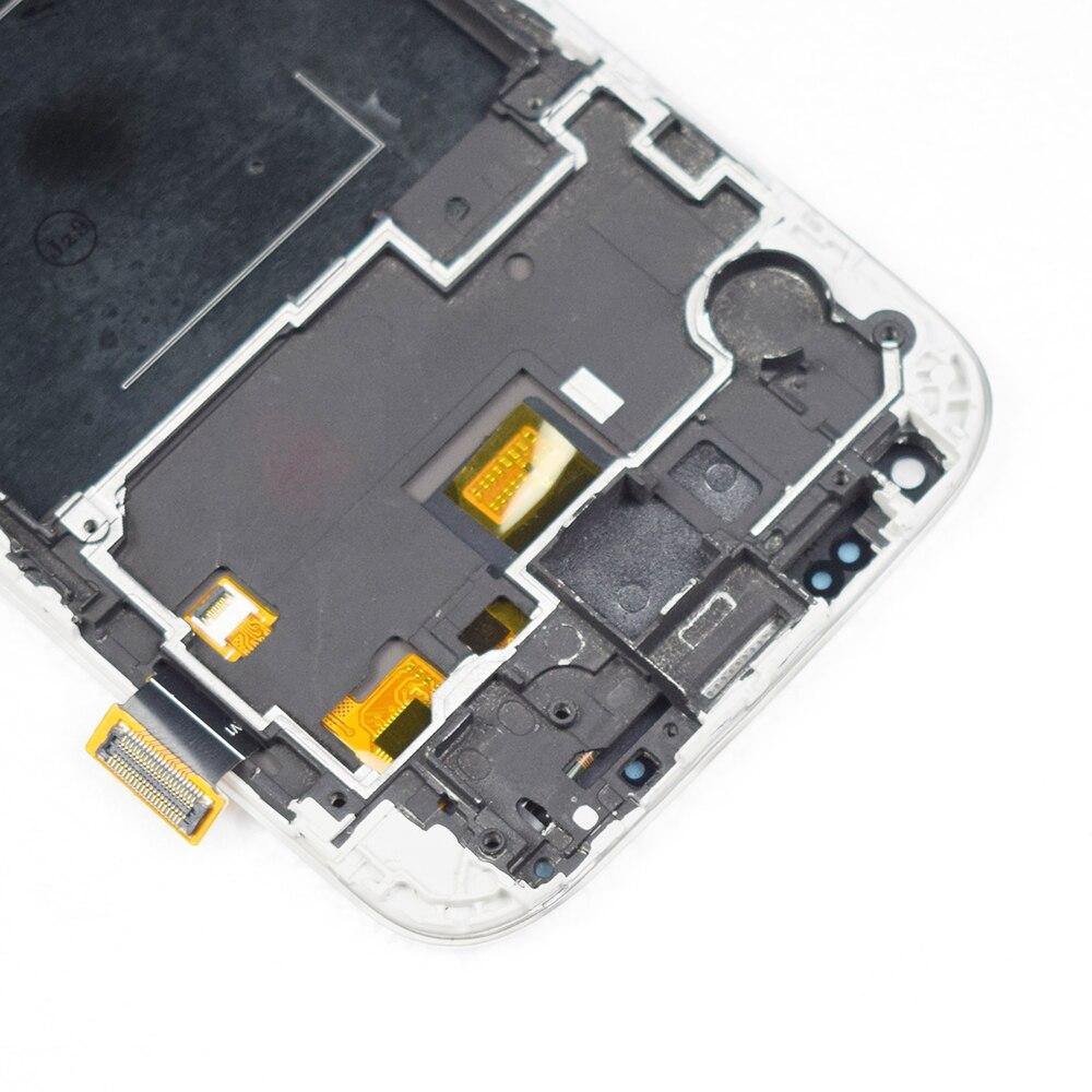 חדש 5 ''סופר IPS LCD עבור סמסונג גלקסי S4 תצוגת LCD עם מסגרת