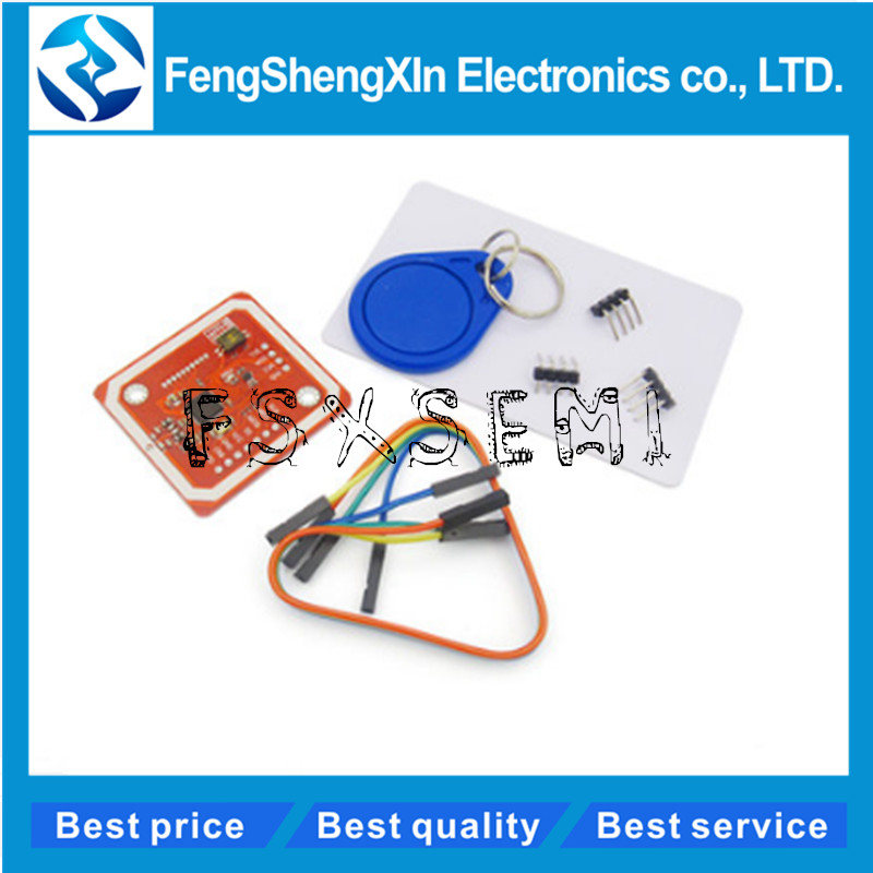 PN532 NFC RFID Wireless Module V3 User Kits Reader Writer Mode IC S50 Card  PCB Attenna I2C IIC SPI HSU For Arduino