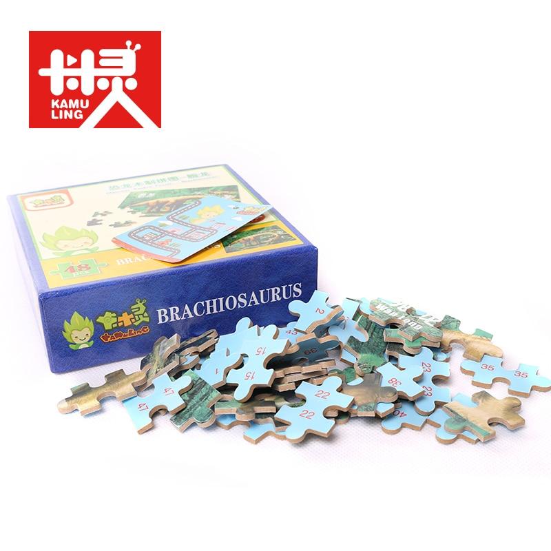 Madera ecológica Puzzle Rompecabezas para niños Rompecabezas de - Juegos y rompecabezas - foto 5