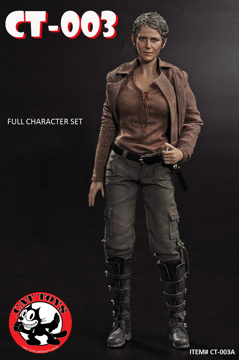 1:6 scale female figure doll The Walking Dead Carol Peletier 12 Action figure doll Collectible model plastic toy No BOX 1 6 scale figure doll terminator3 rise of the machines fembot t x 12 action figure doll collectible model plastic toy