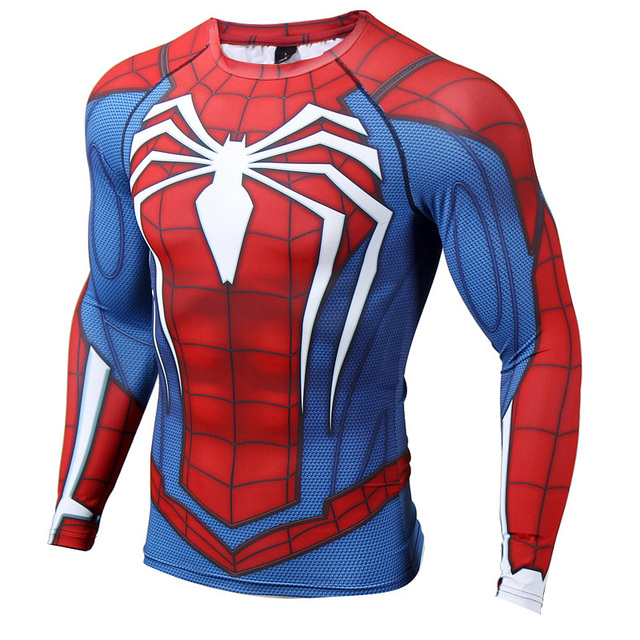 Spider-Man Long Sleeve Compression T-Shirt