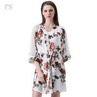 2017 Lace Flora Kimono Robe Kimono Dress Women Blouse Blusas Chiffon Blouse Boho Tops Feminina Beach