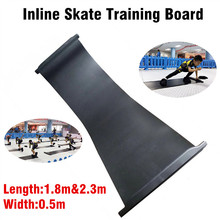 Professional roller skating training props Adults Inline Speed skates training slide board Balance exercise skateboard Foot pad strength training