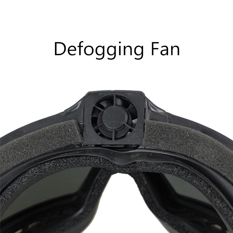 FMA Regulator Goggle With Fan Updated Version Tactical Airsoft Paintball Ski Eyewear Anti-Dust Anti-Fog Eye Protection Glasses(China)