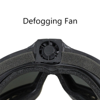 FMA Regulator Goggle With Fan Updated Version Tactical Airsoft Paintball Ski Eyewear Anti Dust Anti Fog Eye Protection Glasses