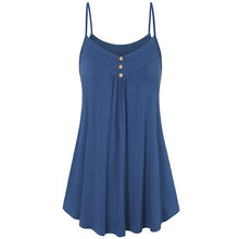 Women Sexy Sleeveless Short Crop top debardeur femme ladies Tank Solid Button Camis Vest Tee tunique femme crop top mujer @50(China)