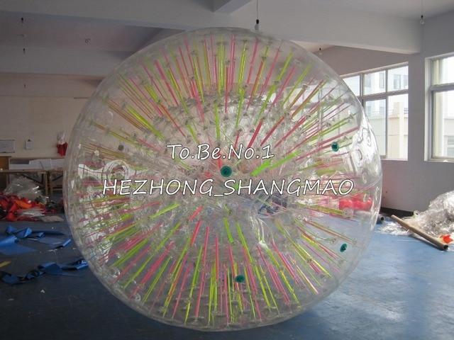 2.8M*2.0M  Inflatable Zorb ball Zorbing Human Hamster ball 1300W Blowers X1