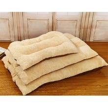 Shu Вельветовая кровать для сна для питомцев, теплая подушка для маленьких больших собак, кошек, зимних собак, диван для питомцев, размеры s, m, l, доступны