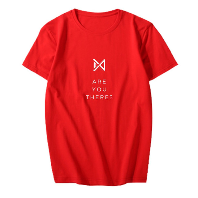 ARE YOU THERE MONSTA X T-SHIRT (5 VARIAN)