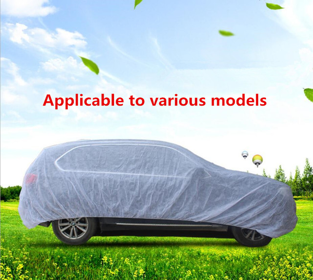 13 Size Waterproof Car Cover SUV Auto Sedan Hatchback Sun Rain Frost Snow Dust Protection Anti UV Cover Car Accessories