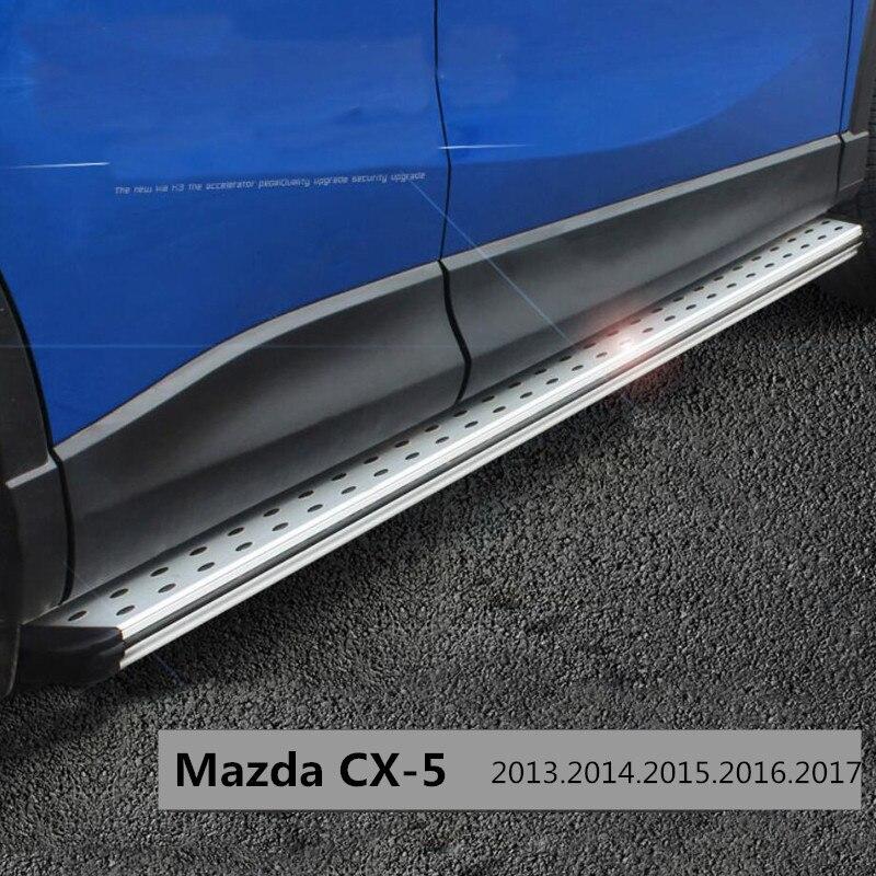 Для Mazda CX-5 CX5 2013.2014.2015.2016.2017 Подножки Подножка Бар Педали Высокое Качество Новый Оригинальный Дизайн Nerf Бары