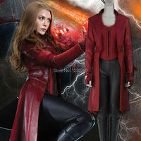 2016 Marvel S Captain America Civil War Costume Scarlet Witch Wanda Maximoff Cosplay Costume Adult Women
