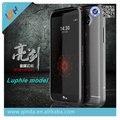 Lujo nuevo diseño vendedor caliente de diseño luphie estereoscópica 3d de metal del caso del capítulo para lg g5 h868 envío libre + protector de pantalla