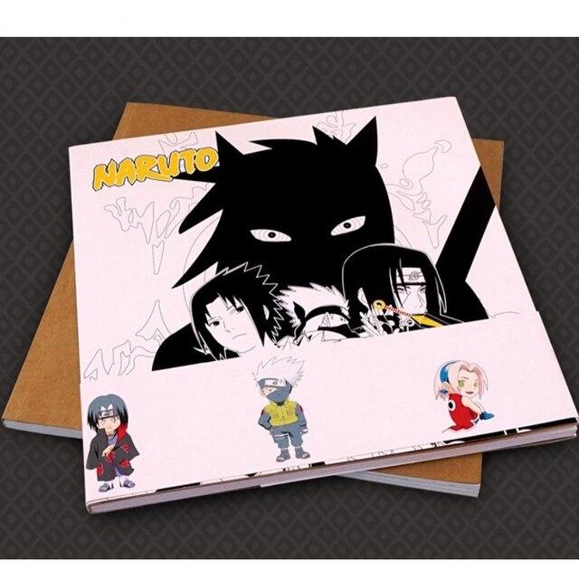 Moda creativa! Naruto AntiStress libro para colorear para adultos ...