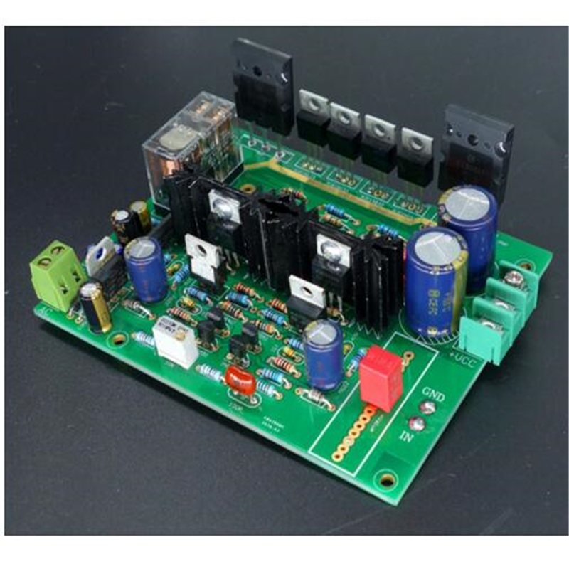 Refer to the Swiss Imitate DARTZEEL 150W*2 hifi amplifier board No feedback power amplifier board