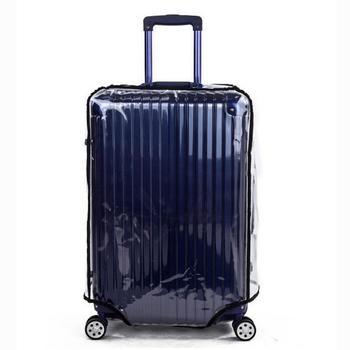 Walizka bagażowa pokrowiec ochronny pokrywa przezroczysta pokrywa 20 22 24 26 28 30 Dust Bag Pokrowce na walizki podróżne akcesoria tanie i dobre opinie EO01475 walizka bagażowa Jako photoshopzachody 255g Stałe Pokrowiec na bagaż iSHINE Akcesoria podróżne