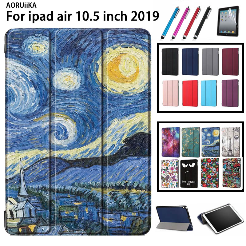 For IPad Air 3rd Generation 10.5 Case Magnetic Smart Cover Trifold Stand Back Cover