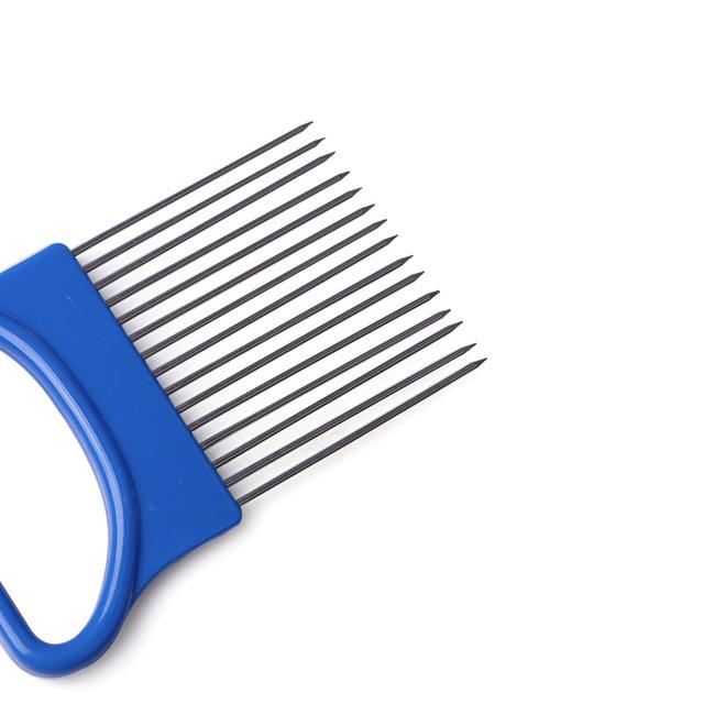Vegetable Slicer Cutting Aid Guide Holder useful gadgets