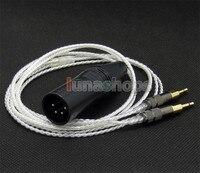 4pin XLR Male PCOCC + посеребренный кабель для Sennheiser HD700 наушники гарнитура LN004738