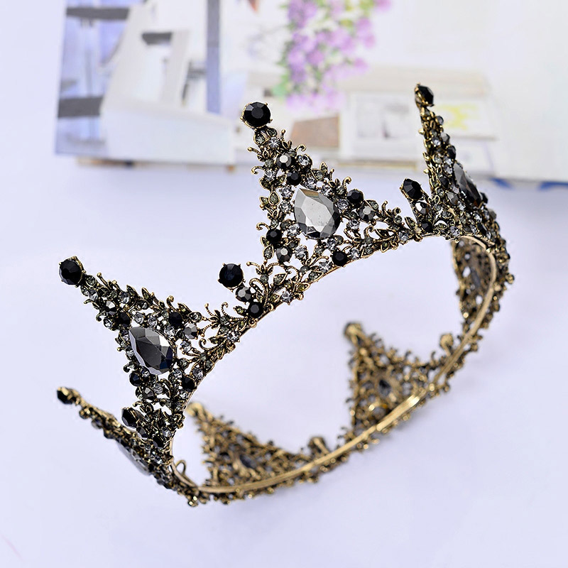 Jewelry Sets & More Dazzling Rhinestones Hari Jewelry For Bridal Sliver Wedding Tiaras Girls Crown Headwear Adornos Para El Pelo H228