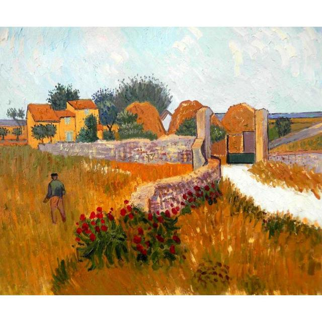 high quality vincent van gogh paintings farm house in provence oil