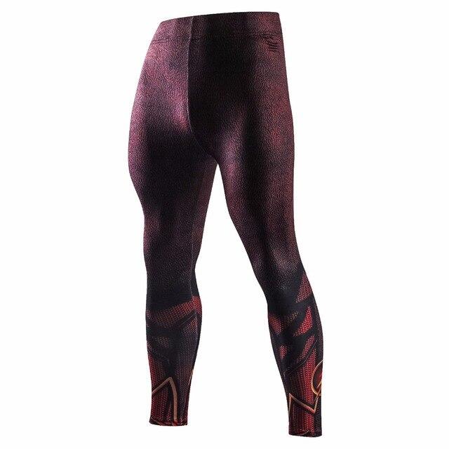 d6cba816bc Skinny Sweatpants for Men Compression Pants Men Leggings Jogger Men 3D Fitness  Pants Spiderman Flash Elastic Trousers