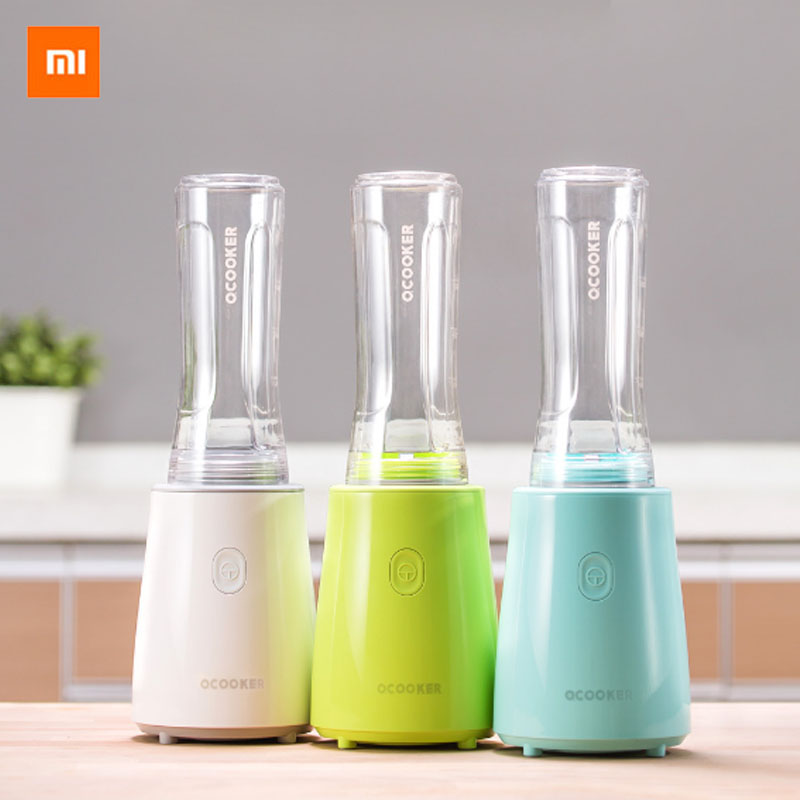 New Xiaomi mijia Ocooker Youth Portable Juicer Fruit and Vegetable Cooking Machine Detachable Cup 8 seconds One-click operation