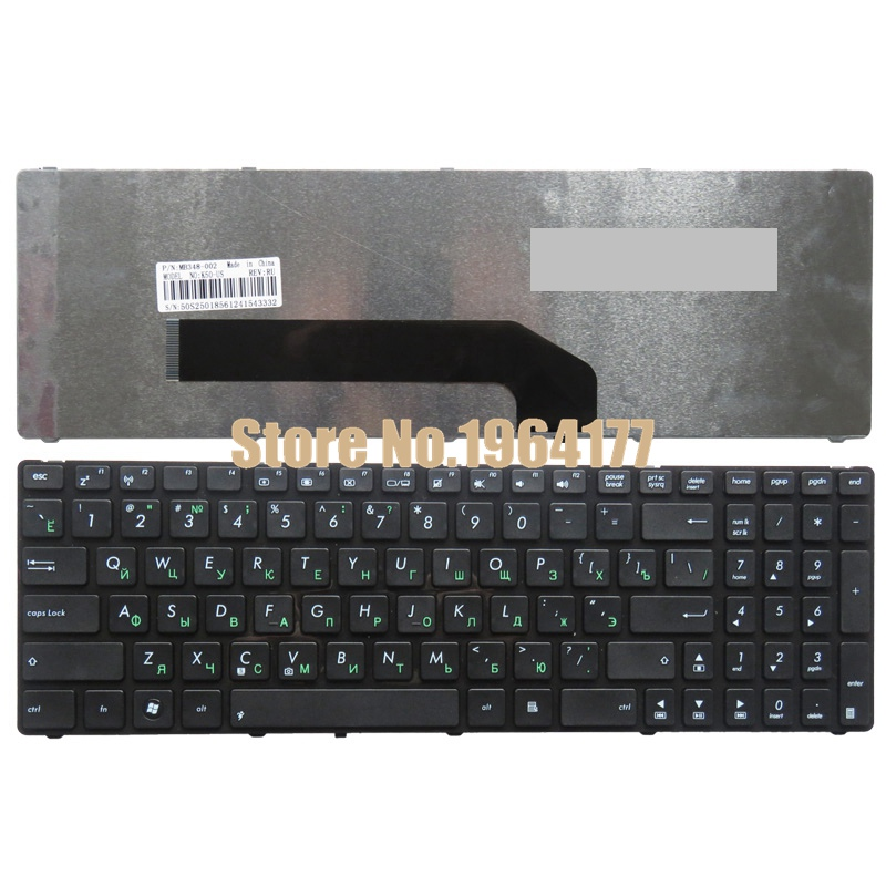 Russian Laptop Keyboard for ASUS K50 K50I K50IJ K50C K50AB K50AD K50AF K50IN P50 P50IJ RU gzeele new laptop lcd back cover case for asus k50 k50ab k50ad k50ae k50af k50c k50i k50id k50ij k50in k50il k50ip k50ie a shell