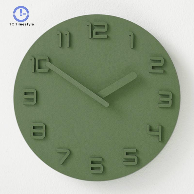 Wall Clock Living Room Modern Minimalist Atmosphere Bedroom Mute Home Creative Personality Restaurant Wall Clocks