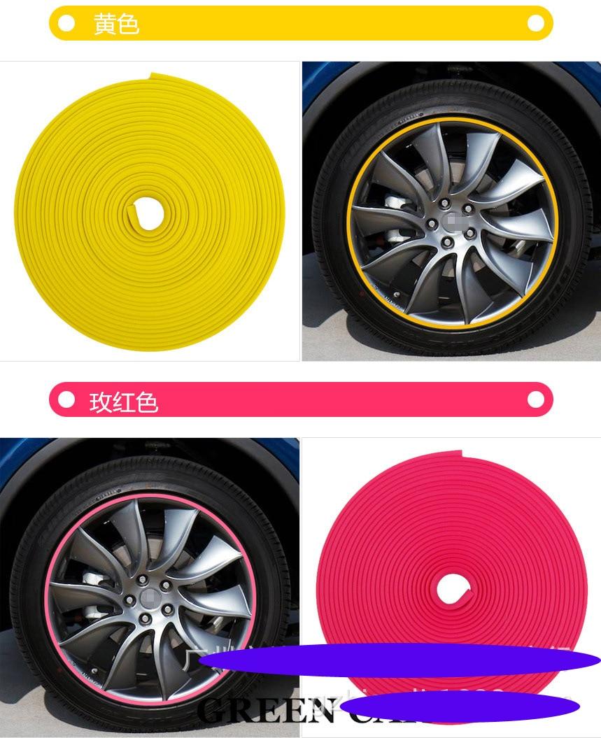 8 metra / zvitek 3M avto pnevmatika za avtomobile, dekorativna - Zunanja dodatna oprema za avtomobile - Fotografija 6