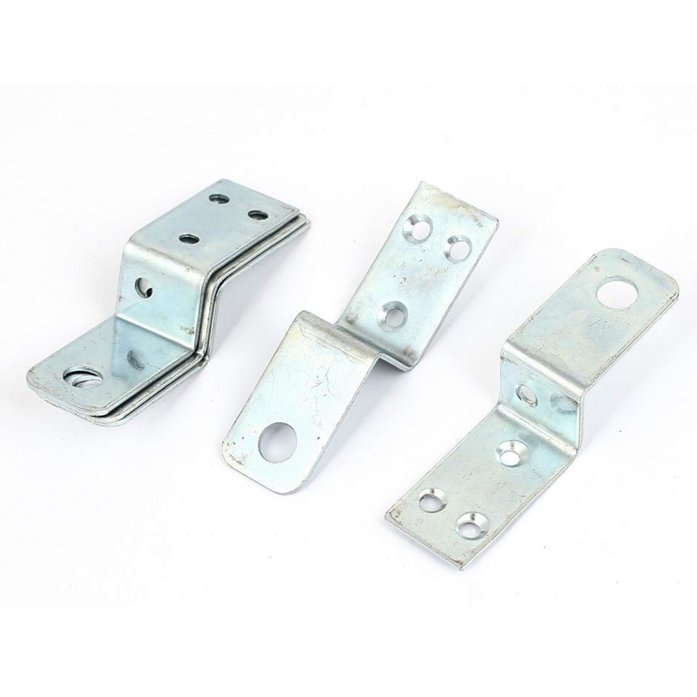 Furniture Shelf 70x20mm Z Shaped Corner Brace Plate Angle Bracket 5pcs 10 pcs lot silver color metal corner brace right angle l shape bracket 20mm x 20mm home office furniture decoration accessories