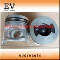 6WG1 6WG1T piston include piston pin and clip  For Hiatch ZAX470 ZAX450 excavator