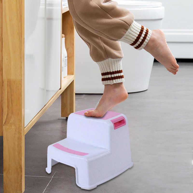 Superb Hot 2 Step Stool Toddler Kids Stool Toilet Potty Training Short Links Chair Design For Home Short Linksinfo