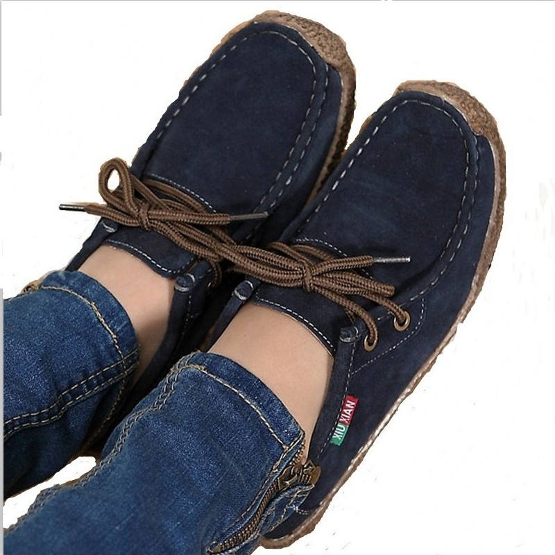 High quality women casual shoes solid lace-up soft fashion woman flats shoes autumn Ankle Boots zapatos mujer hot sale DDT90 2016 hot low top wrinkled skin cockles trainers kanye west chaussure flats lace up mens shoes zapatos mujer casual shoes