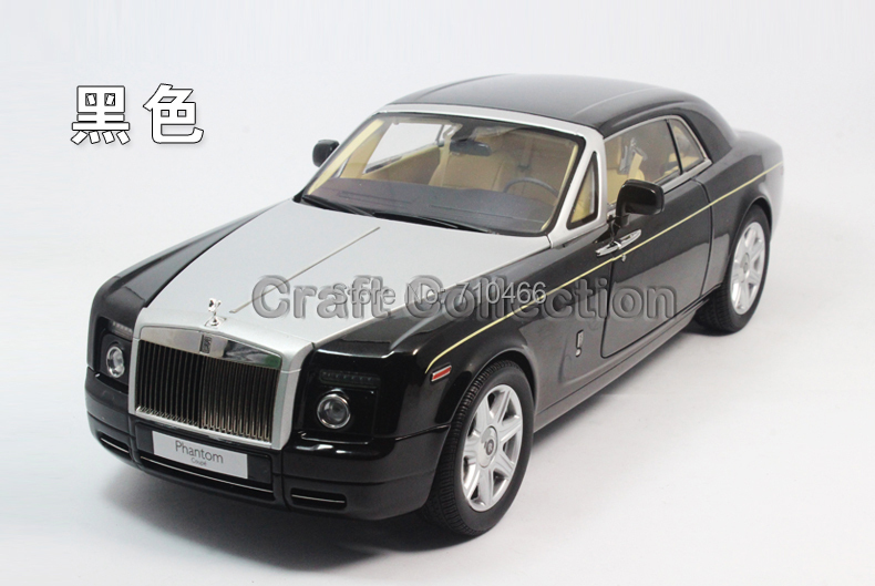 Kyosho 1 18 Black Rolls Royce Phantom Coupe DieCast Model Car Extended Wheelbase Director Cut Vehicle