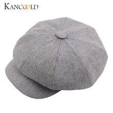 Sombrero de invierno cálido sombreros pintor boina boinas boina sombreros  2018 visera otoño Casual casquette Peaked 26445bf3468