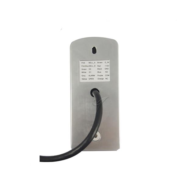 Standalone metal access control card reader 13.56MHZ MF IC card door access control reader system surface waterproof card reader