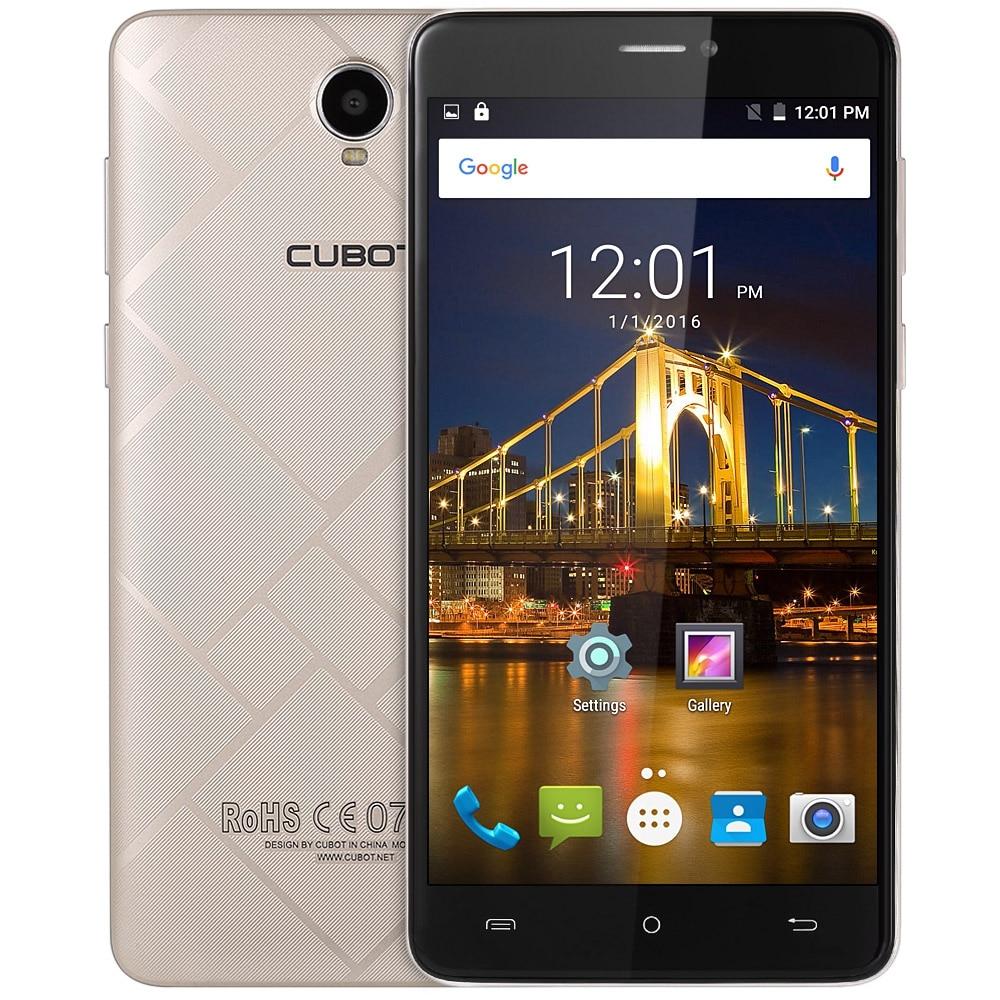 Cubot Max Android 6.0 Smartphone HD Écran 720 P 6.0 Pouce MTK6753 1.3 GHz Octa Noyau Mobile Téléphone 3 GB + 32 GB GPS BT 4.0 téléphone portable