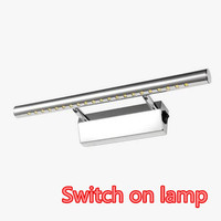 5W 28cm With Switch Bathroom LED Mirror Light AC85 265V SMD5050 Mini Style Cold White LED