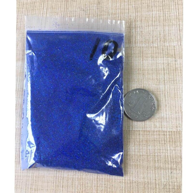 50 г/пакет тонкий голографический блестящий для ногтей порошок лазерный серебряный лак для ногтей Шестигранная форма лак для маникюра художественное оформление ногтей 0,2 мм - Цвет: 50G LS-10