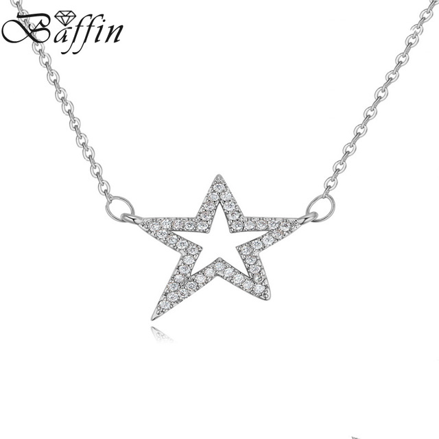 2017 baffin fashion star shaped pendant necklace made with aaa cubic 2017 baffin fashion star shaped pendant necklace made with aaa cubic zirconia for women party gift mozeypictures Choice Image