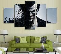 5 Panels Wall Art Suicide Squad Harley Quinn Joker Movie Poster Painting Art Print Unframed 5504